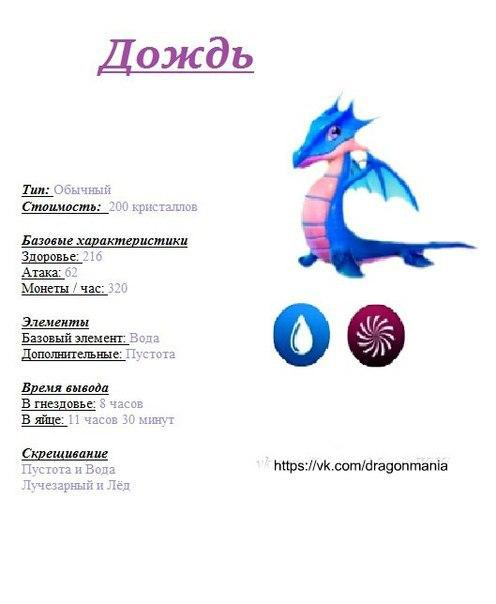 Как вивести дракона радуга